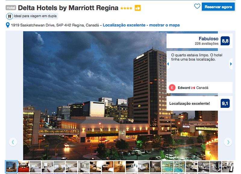 Reservas do Delta Hotels by Marriott em Regina
