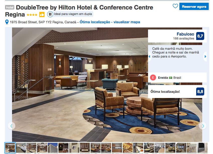 Reservas do Hotel DoubleTree by Hilton em Regina