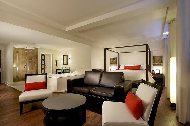 Suíte do Hotel Sterling Inn & Spa em Niagara Falls