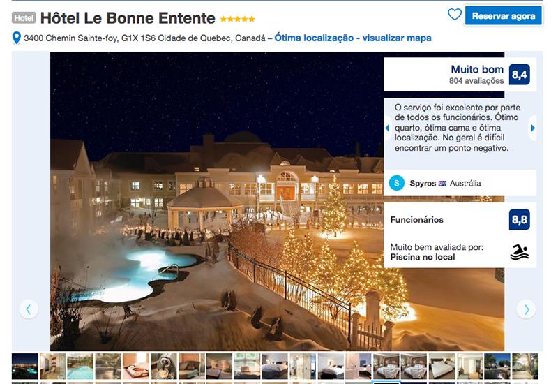 Reservas Hôtel Le Bonne Entente em Quebec