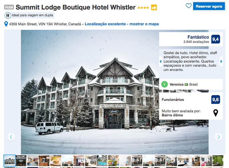 Reservas Hotel Summit Lodge em Whistler
