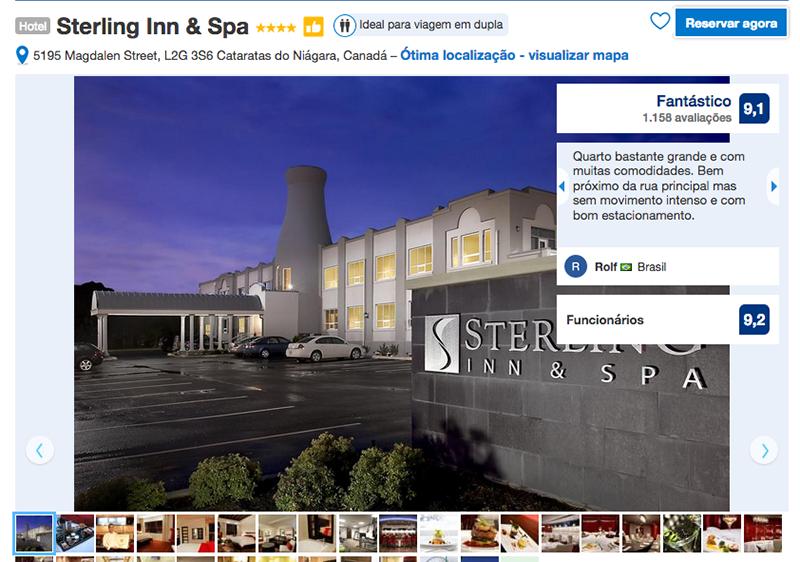 Hotel Sterling Inn & Spa em Niagara Falls