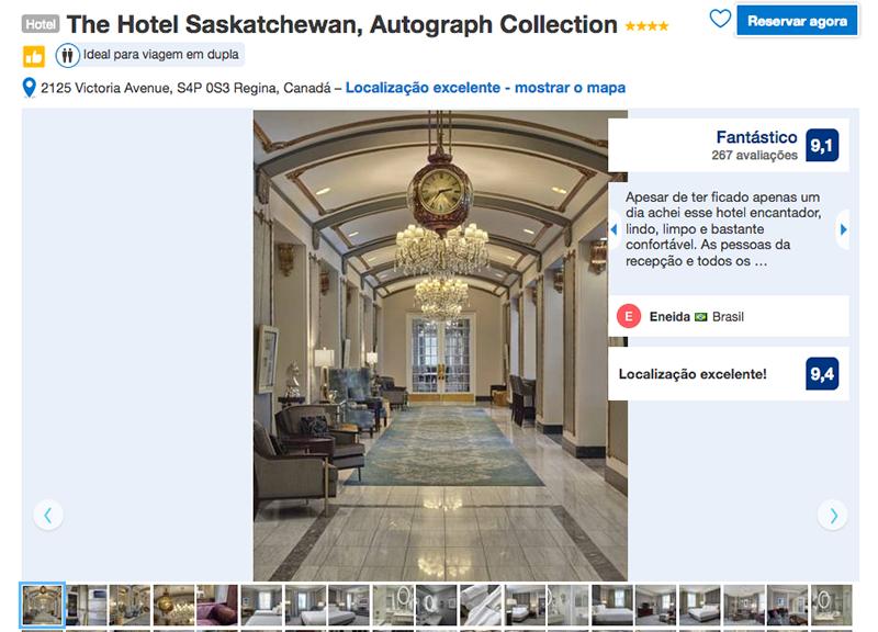 Reservas do The Hotel Saskatchewan em Regina