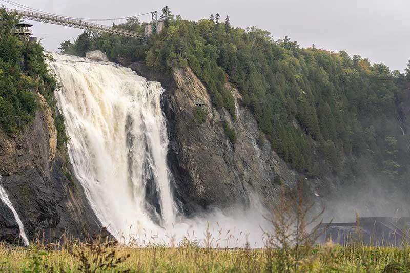 Cataratas Montmorency em Quebec