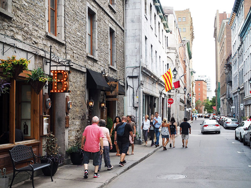 Região de Old Montreal