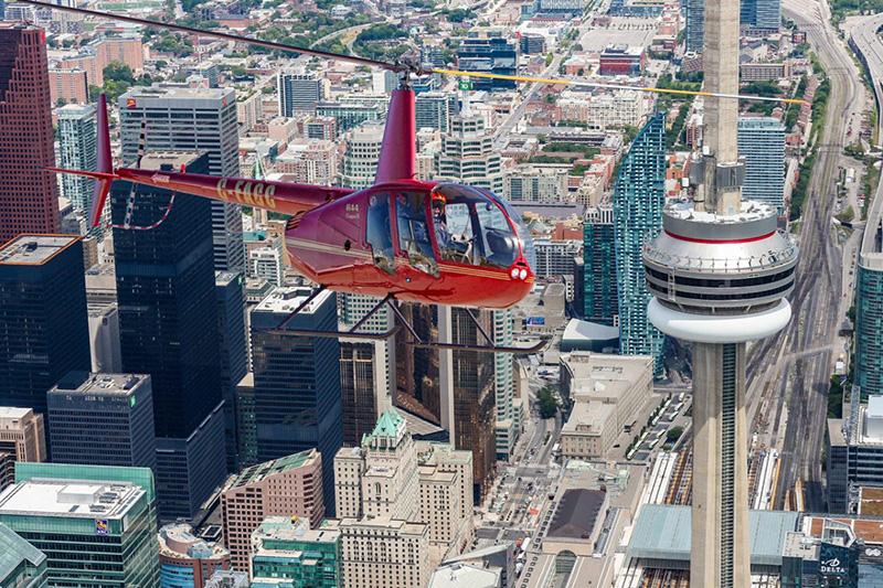 Excursão de Helicóptero em Toronto