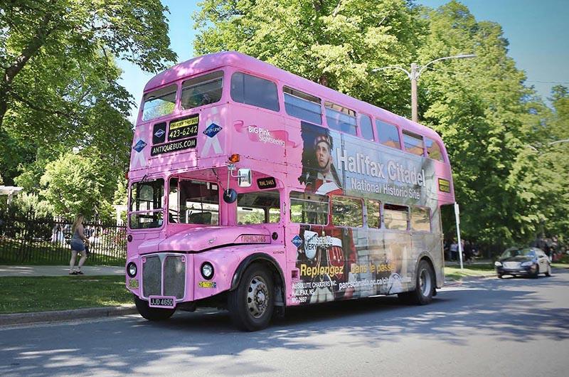 Excursão de ônibus turístico em Halifax
