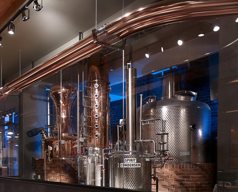 Produção cervejeira em Toronto