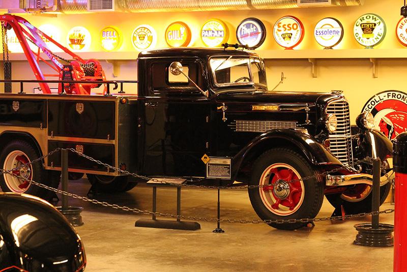 Acervo do Museu da Gasolina em Calgary