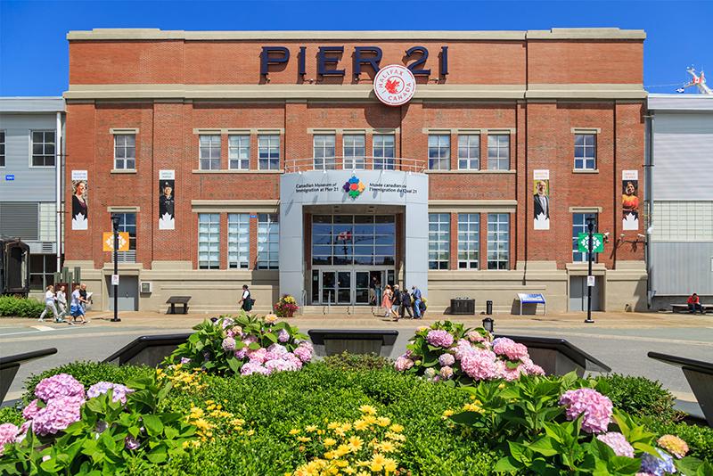 Píer 21 em Halifax