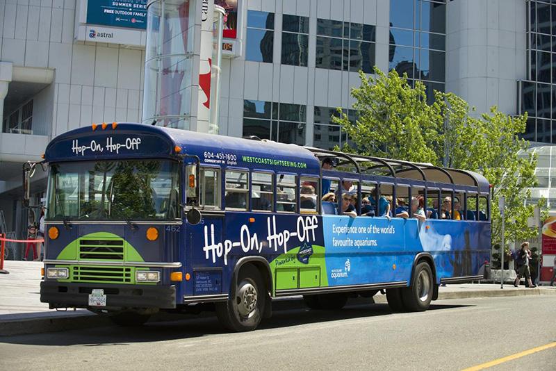 Passeio do ônibus Hop-On Hop-Off em Vancouver