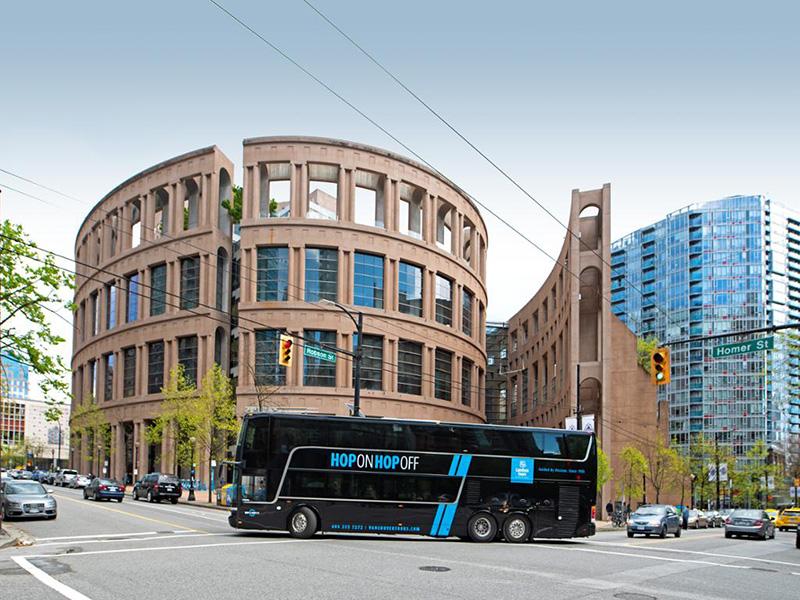 Ônibus Hop-On Hop-Off em Vancouver
