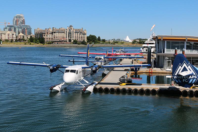 Porto de hidroavião em Victoria