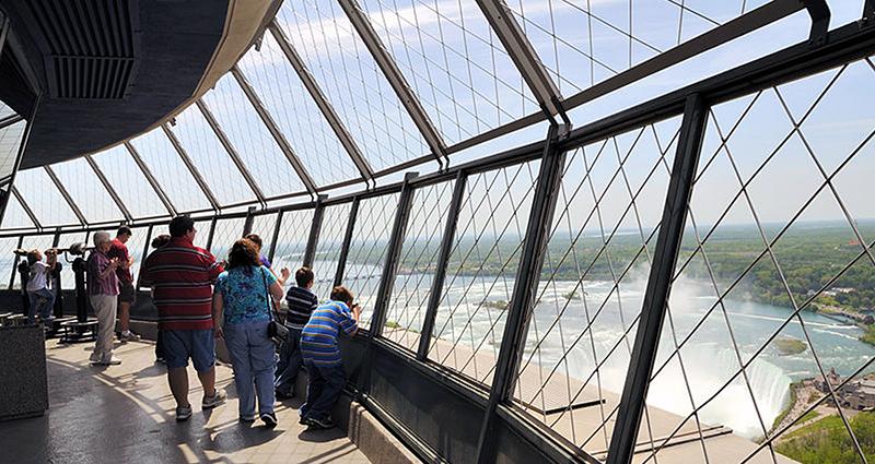 Observatório da Skylon Tower em Niagara Falls