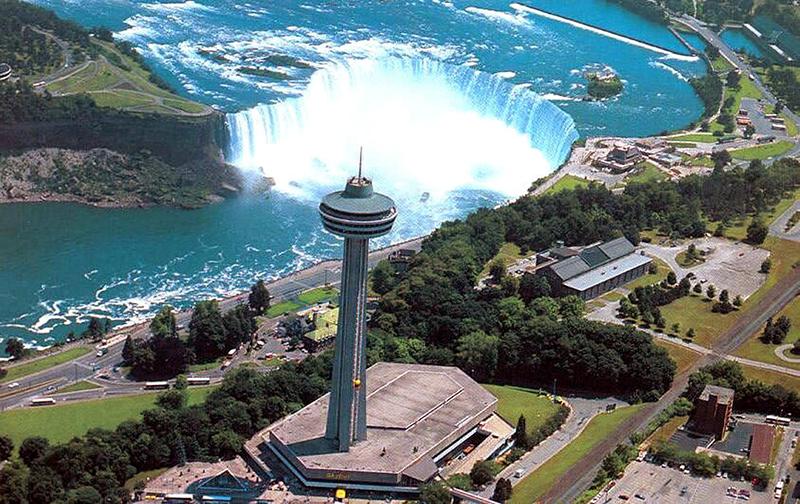 Skylon Tower em Niagara Falls Observatorio