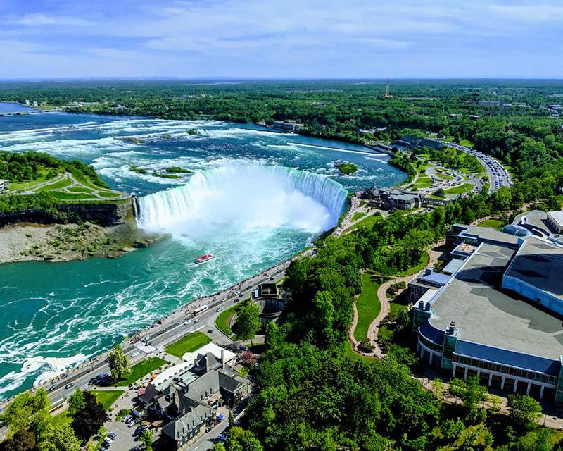 Vista da Skylon Tower em Niagara Falls