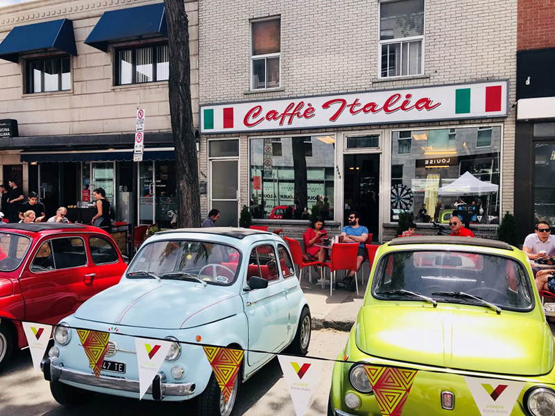 Little Italy em Montreal