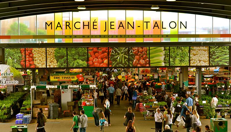 Marché Jean-Talon em Montreal