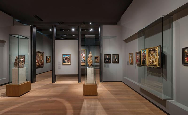 Sala interna do Museu de Belas Artes de Montreal