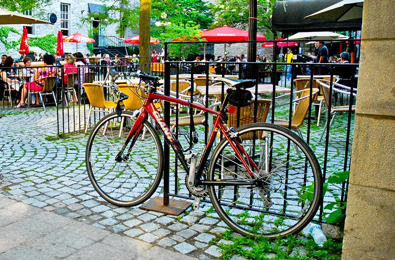Locais de estacionamento para bicicletas em Ottawa
