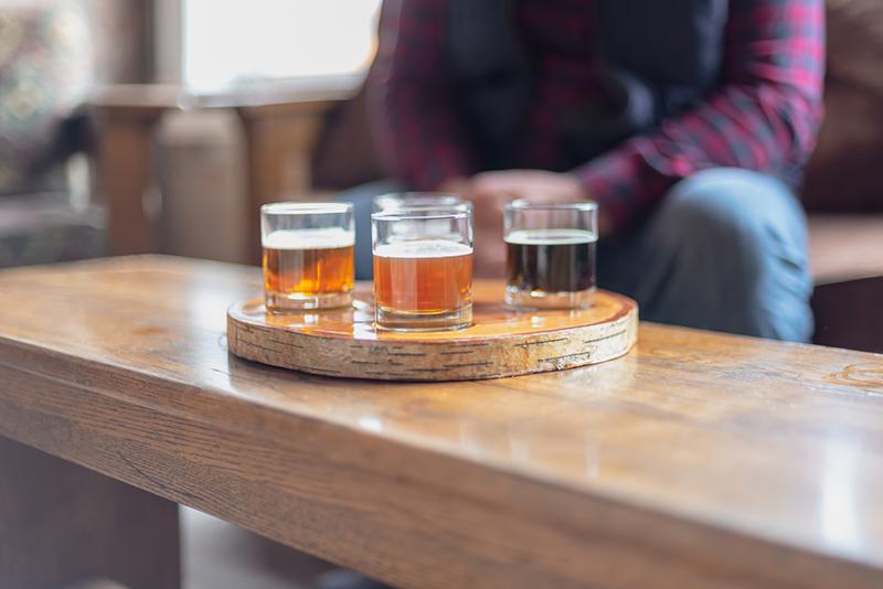 Degustação de cervejas em Niagara Falls
