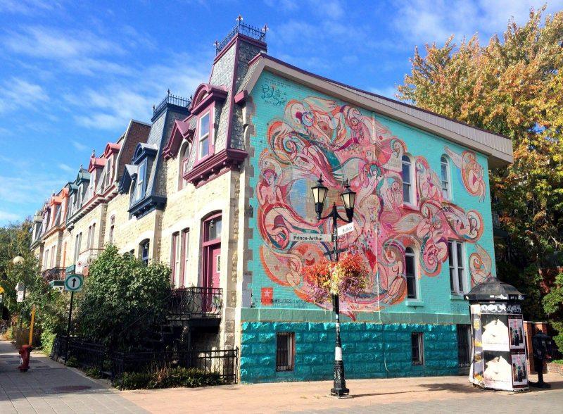 Arte de rua em Montreal