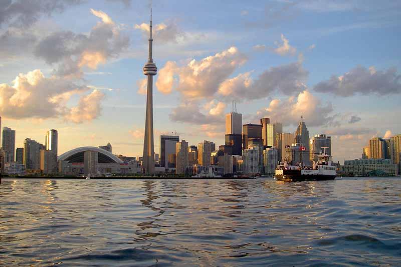 Vista do Cruzeiro City Views em Toronto