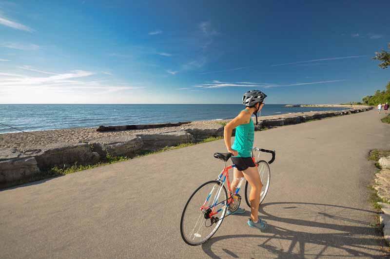 Ciclovias para bicicletas em Toronto