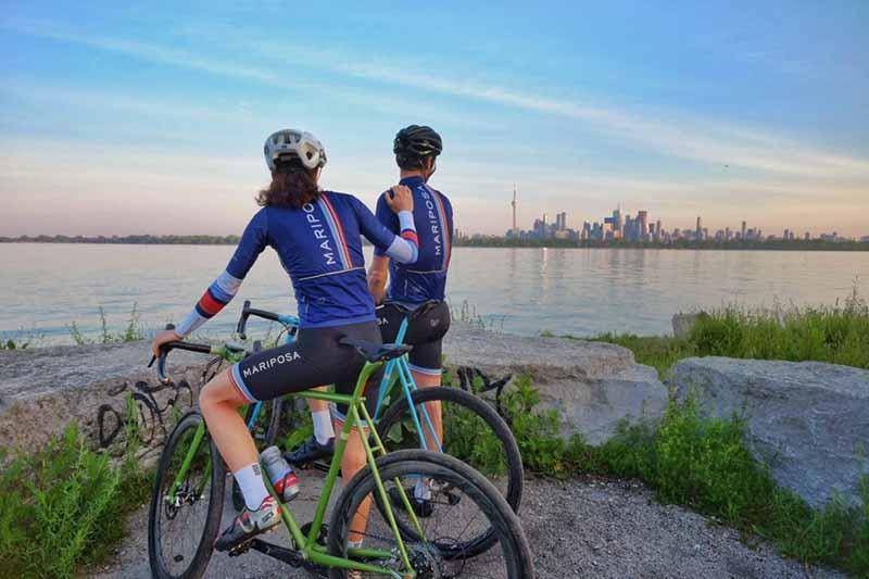 Passeio de bicicleta pelas Ilhas de Toronto