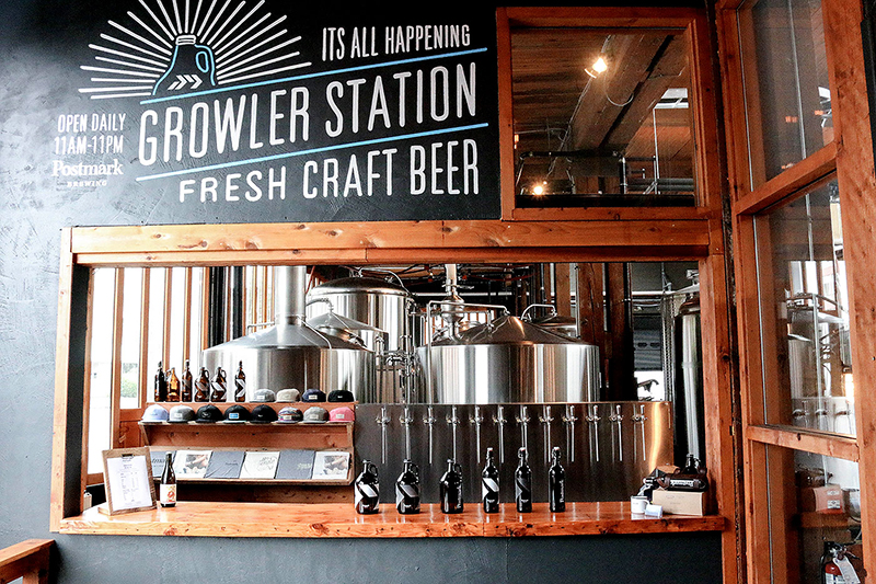 Cervejaria Postmark Brewing em Vancouver