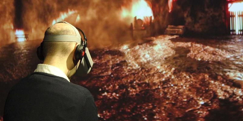 Sensação da Experiência de realidade virtual em Quebec