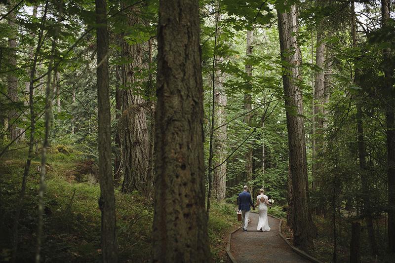 Francis King Park, cenário até para casamentos