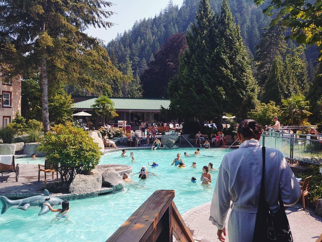 Spa Harrison Hot Springs em Vancouver