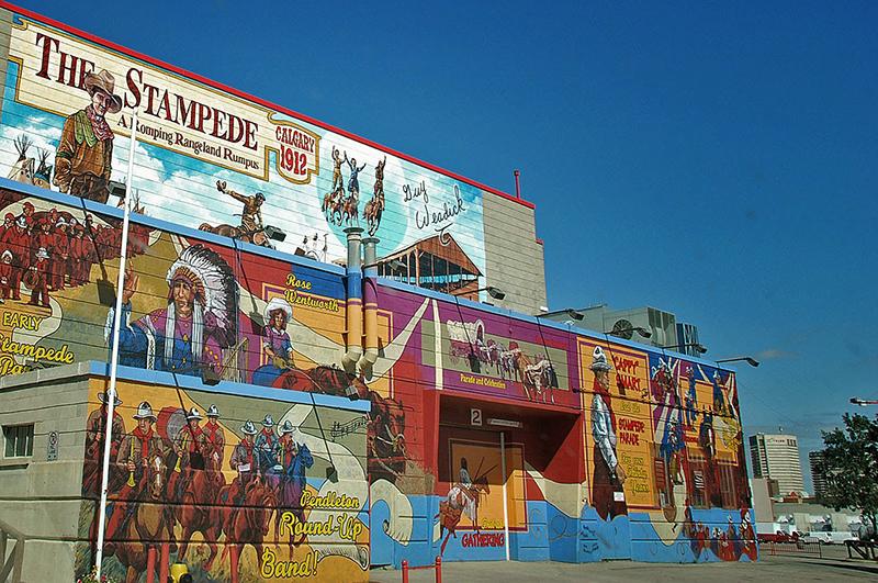 Stampede Park Art e Wild West Tour em Calgary