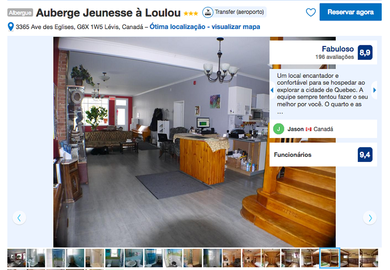Auberge Jeunesse à Loulou em Quebec