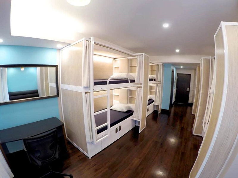 Dormitório do M Montreal Hostel