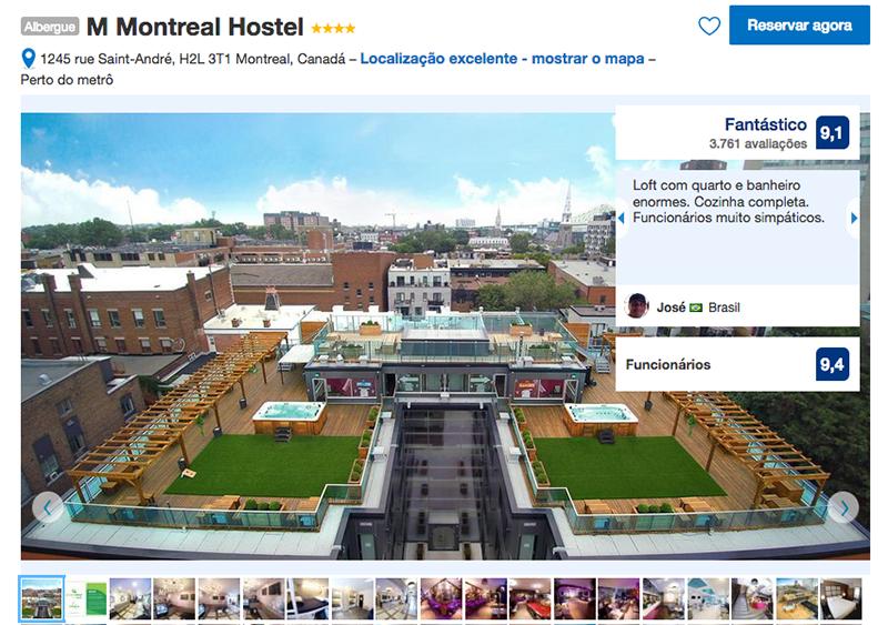 M Montreal Hostel