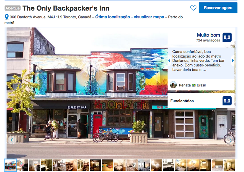 The Only Backpacker's Inn em Toronto