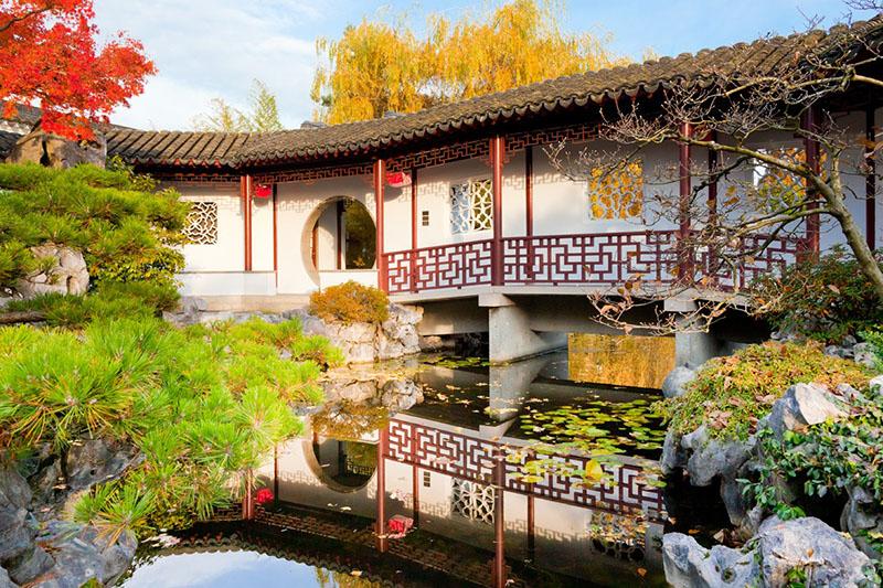Dr. Sun Yat Sen em Chinatown Vancouver