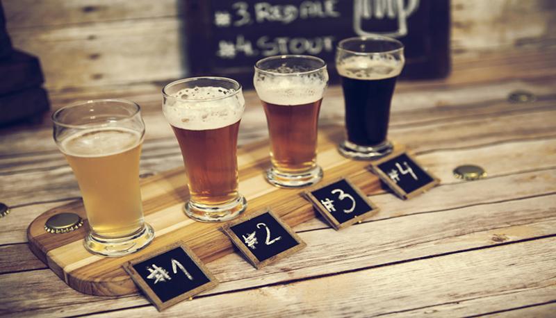 Régua da excursão por cervejarias em Montreal