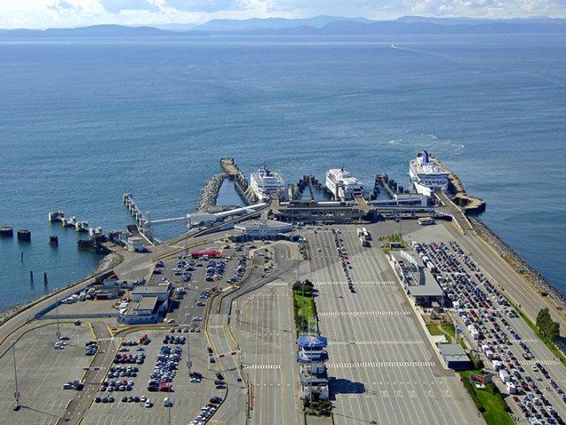 Como ir de ferry de Victoria a Vancouver