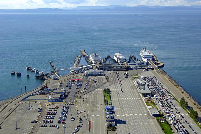 Tsawwassen Ferry Terminal em Vancouver