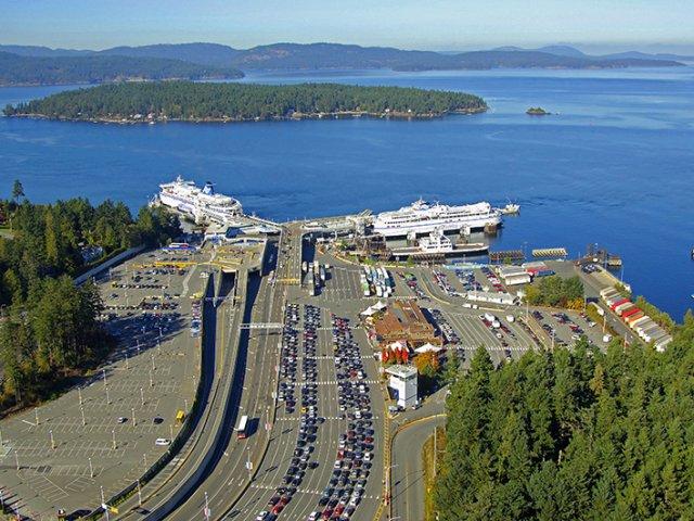 Como se locomover de ferry por Vancouver