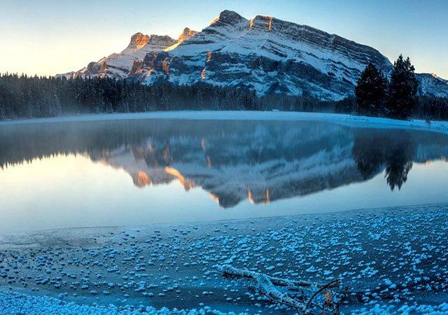 Cidades com neve no Canadá