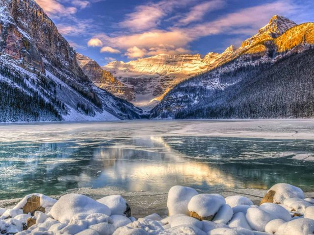 Excursão de inverno em Banff