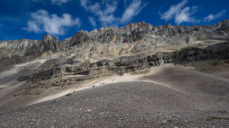 Vale do Glaciar Stanley em Banff