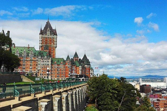 Pontos turísticos em Quebec