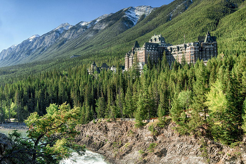 Experiência gastronômica no Banff Springs Hotel