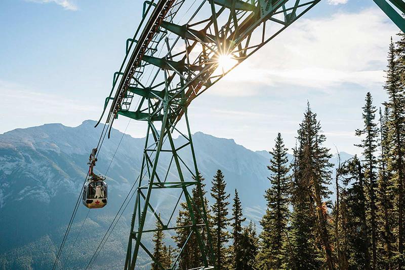 Passeio de Teleférico em Banff