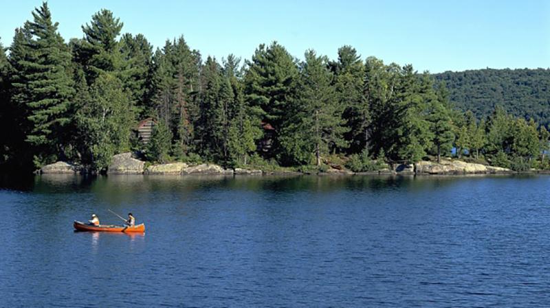 Canoagem no Algonquin Provincial Park em Toronto